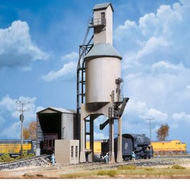 Walthers Cornerstone CONCRETE COALING TOWER KIT HO