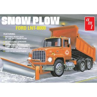 AMT 1/25 FORD LNT-8000 SNOW PLOW