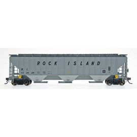 Tangent Scale Models COVERED HOPPER ROCK ISLAND HO