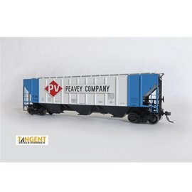 Tangent Scale Models Covered Hopper TLDX Peavey Co HO - Clearance