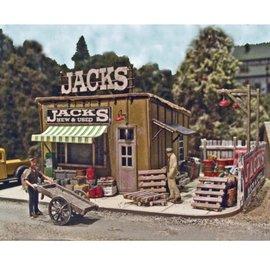 Bar Mills Jack's Backyard Laser Cut Kit HO
