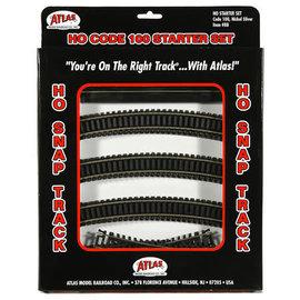 Atlas CODE 100 TRACK STARTER SET HO