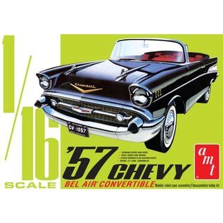 AMT 1/16 1957 Chevy Bel Air Convertible
