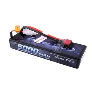 Gens Ace 7.4V 5000mah 2S 50C LIPO hard Deans