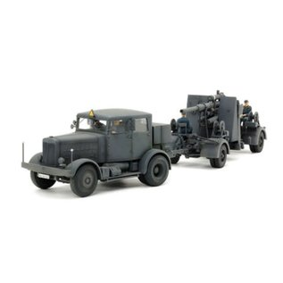 Tamiya 1/48 GERMAN HEAVY TRACTOR SS10/GUN