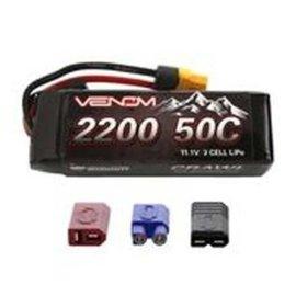 Venom Power 11.1V 2200mah 3S 50C CRAWLER LIPO Uni-plug