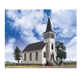 Walthers Cornerstone COTTAGE GROVE CHURCH KIT HO