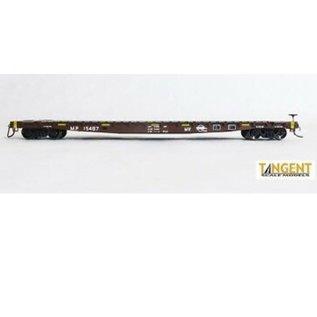 Tangent Scale Models 602 GSC Flatcar MP HO