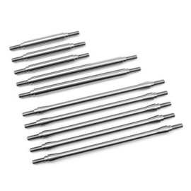 Vanquish Products TRX-4 Stainless t 10pc Link Kit, Stock Wheelbase