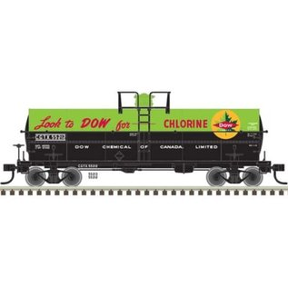 Atlas 11,000 GALLON TANK CAR DOW HO #55213