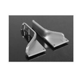 RC4WD Aluminum Tube Fenders for Axial Jeep - Clearance