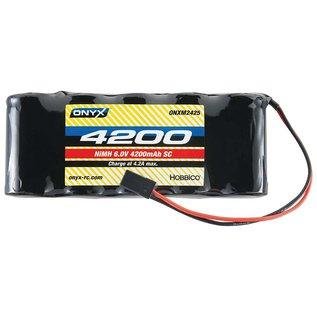 Onyx RC 6.0V 4200mah NIMH SUBC Flat RX battery