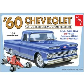 AMT 1/25 1960 Chevy Fleetside Pickup w/Go Kart