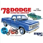 MPC Models 1/25 1978 Dodge D100 Custom Pickup