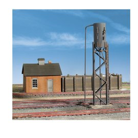 Walthers Cornerstone SANDING TOWER & DRYING HOUSE KIT HO