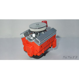 SSD RC SCALE V8 ENGINE MOTOR COVER SET