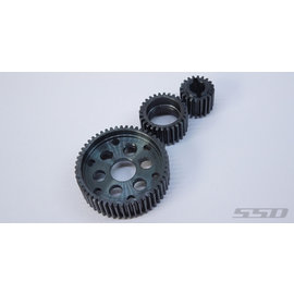 SSD RC HD STEEL TRANSMISSION GEARS FOR SCX10/S
