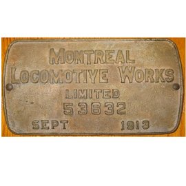 Railway Recollections MONTREAL LOCO WORKS LOGO NEW