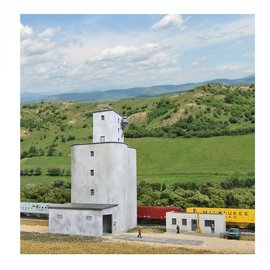 Walthers Cornerstone PRAIRIE CO-OP ELEVATOR KIT N