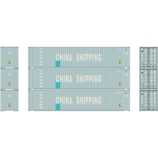 Athearn 45' CONTAINER CHINA SHIPPING 3