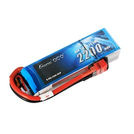Gens Ace 11.1V 2200mah 3S 45C LIPO Deans