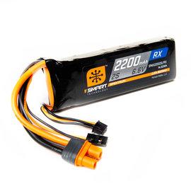 Spektrum 6.6V 2200mah 2S SMART LIFE RX battery