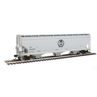 Walthers Mainline 60' NSC 5150 3BAY COVERED HOPPER CP BLACK BEAVER HO
