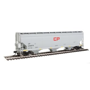 Walthers Mainline 60' NSC 5150 3BAY COVERED HOPPER CP RED BLOCK HO