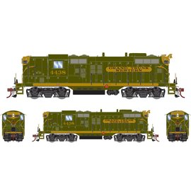 Athearn HO GP9 w/DCC & Sound, GTW/Green, Gold #4438