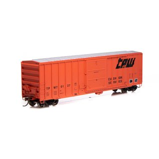 Athearn 50' FMC 5347 BOX CAR TP&W HO