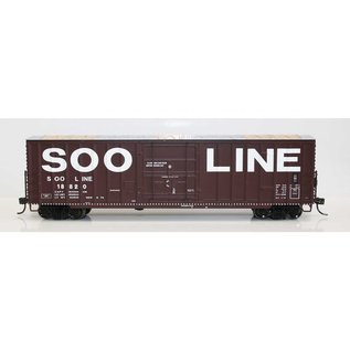 Fox Valley Models 7 POST BOX CAR SOO LINE HO
