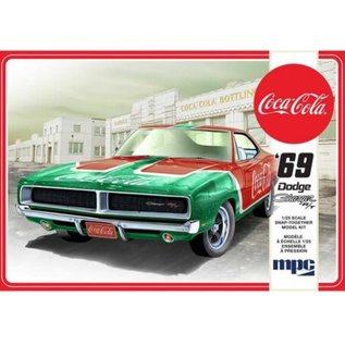 MPC Models 1/25 1969 DODGE CHARGER RT COCA-COLA