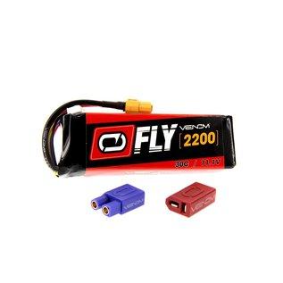 Venom Power 11.1V 2200mah 3S 30C LIPO Uni-plug