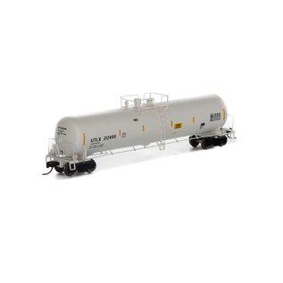 Athearn 30K Gallon Ethanol Tank UTLX White N