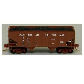 Micro Engineering 33' TWIN HOPPER W/LOAD CN N