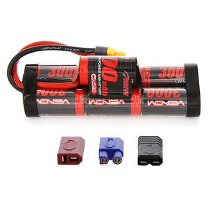 Venom Power 8.4V 3000mah NIMH Hump Uni-plug