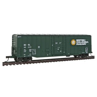 Atlas 50' NSC 5277 PD Box Car BC Rail #851019 HO