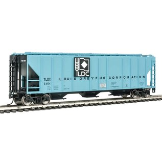 Walthers Mainline 54' PS2-CD LOW Cov. Hopper TLDX HO