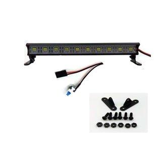 Hi-Performance 1/10 ALUM. LIGHT BAR 10 LEDS BLACK