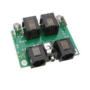 NCE CAB BUS FASCIA PNL W/RJ12 CONNECTORS