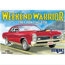 MPC Models 1/25 1967 PONTIAC GTO 2T
