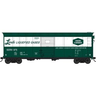Bowser Trains 40' BOX CAR LINDE LIQUEFIED GASES HO