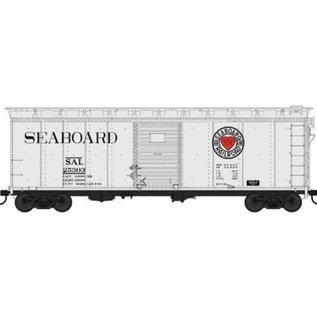Bowser Trains HO 40' Box, Seaboard Beer Car Heart Logo #253794