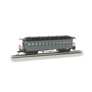 Bachmann Trains 1860-1880 Coach, Undecorated/Green HO