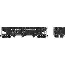 Bowser Trains HO 70-Ton Offset Hopper, Canada Southern #3341