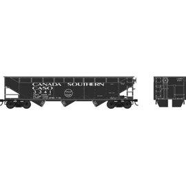Bowser Trains HO 70-Ton Offset Hopper, Canada Southern #3367