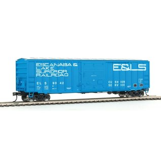 Walthers Mainline 50' ACF BOXCAR ESCANABA&LS HO