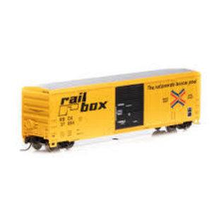 Athearn 50' FMC 5347 BOX CAR RBOX N