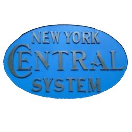 Railway Recollections NYC OVAL PLATE
