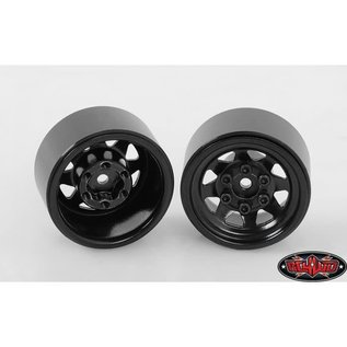 RC4WD 1.0 Stamped Steel Stock Beadlock Wheel, Black 4